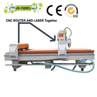 CNC and Laser Cutting Machine (JX-1325CL)
