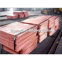 Copper Cathodes 99.99%