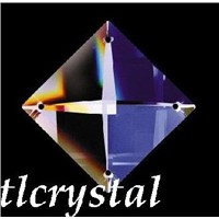 Crystal Square-Crystal Chandelier Prism