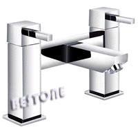 Double Handle Bath Filler Mixer/Faucet Deck-mounted