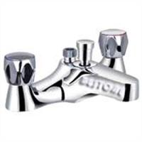 Double Handle Bath/Shower Mixer/Faucet Deck-mounted