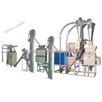 Fully Automatic Corn Flour Machine 6FW-12A