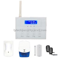 GSM /PSTN Dual-Network Wireless Alarm Systems (LY-GSMWA001)