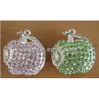 Jewelry Apple Shape USB for Wholesale