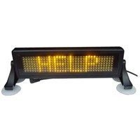 LED car display