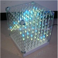 Laying SMD 5mm F5 3 in1 Laying 3D Cube Light for Advertising,DJ party Show,LED Display