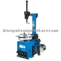 Motorcycle Tyre changer APO-323/APO-323IT( Pneumatic operated tilting column)