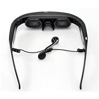 New Product! 50 inch Virtual Digital Video Mobile Cinema Glasses Eyewear Mobile Theater