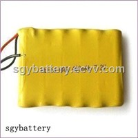 Ni-CD  AAA400mAh 7.2V Battery Pack