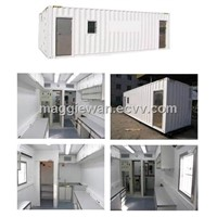 Portable prefabricated and Movable Easy Living House Container