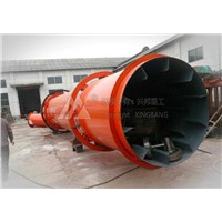 Quarz sand rotary dryer with ISO,CE certificate