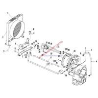 SDLG Wheel Loader LG953 TORQUE CONVERTER SYSTEM spare parts