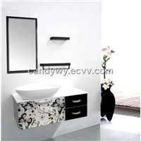 Stainless Steel (sus 304) Single Basin Bathroom Cabinets (ISA-801)