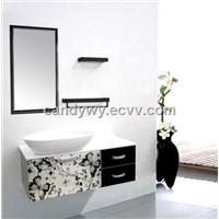Stainless Steel (sus 304) Single Basin Bathroom Cabinets (ISA-801)