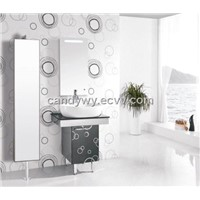 Stainless Steel(SUS 304) Single Basin Bathroom Cabinet(ISA-827)