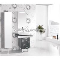 Stainless Steel(SUS 304) Single Basin Bathroom Cabinet(ISA-827)