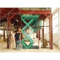 Stationary Hydraulic Cargo Lift