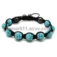 Wholesale Price Jewelry Beads Crystal Shamballa Bracelet