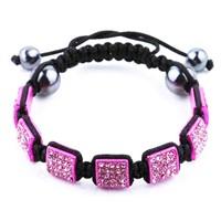 Wholesale beaded shamballa bracelet SB-003