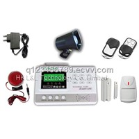Wire 4 & wireless 95 zones telephone alarm system