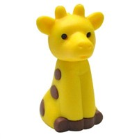 Yellow Giraffe Shaped Eraser