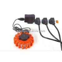 emergency vehicle led lights Mini Portable LED Traffic Light