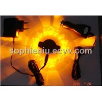 safety magnetic warning led light