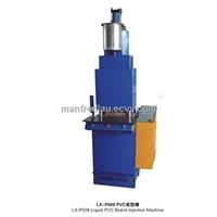 vertical pvc injection machine