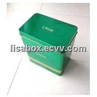 health care product tin box
