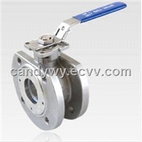 1PC Wafer Flanged Ball Valve (DIN)