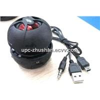 Hot Gifts Hamburger Mini USB Speaker Read Micro SD / TF Memory Card