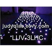 LED Star Curtain / Cloth / RGB DMX Curtain(LUV-3LHC)