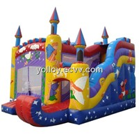 New Princess Inflatable Fairy Castle for Commercial Inflatable Rental