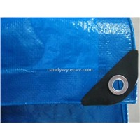 Waterproof PE Tarpaulin Fabric