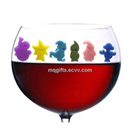 Silicone Wine Glass Marker