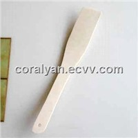 Wooden Curved Spatula & Wooden Spatula