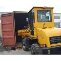 0.8T wheel loader ZL08F with snow blade/snow plow