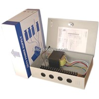 18 channels 24VAC 10A CCTV Power Supply