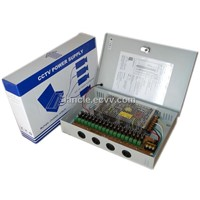 18ch 12V12A CCTV  Power Supply