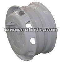 24.5x8.25 steel truck wheel rim silver tubeless