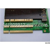 4 Layers FR4 / Cooper Double Sided Custom PCB Boards with Gold Finger