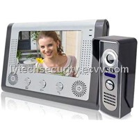 7'' Four Wire Color Video Door Phone (LY-AVDP302A)