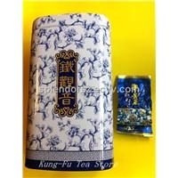 China tea, 250g King of Tie Guan Yin in an iron gift box