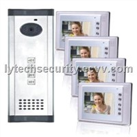Color Video Door Phone System for Apartment (LY-AVDP803-1-4)