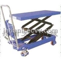 Foot hydraulic drive platform