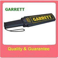 HOT!!! High Sensitivity Hand Held Metal Detector,Police Scanner Equipment Garrett Super Scanner