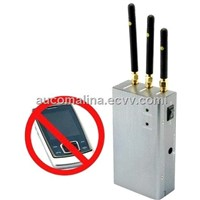 High Powered Portable GSM+3G Cell phone Mobile Phone Signal jammer