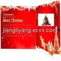 Hot 2.8''\3.5''\4.3''\7''Christmas Card\Christmas Greeting Card For Christmas Day, AnyHolidays Etc