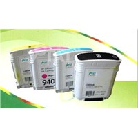 Inkjet cartridge with high capacity for HP940XL colors compatible