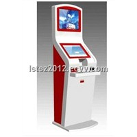 Interactive self-service Bill Payment Kiosk with Card dispenser